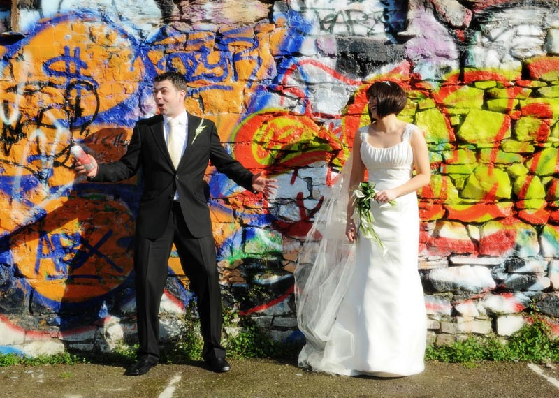 Graffitti Wedding image
